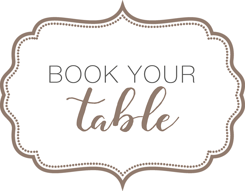 Book your table in our cafe